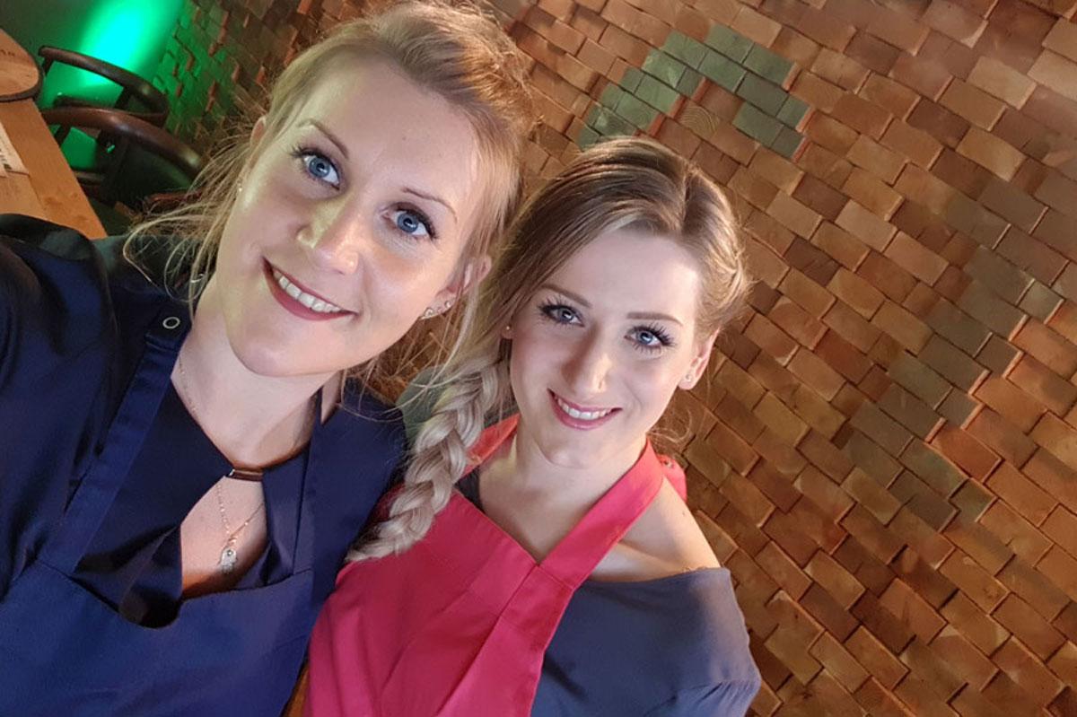 Kochen und Backen mit Julia Komp und Marie Simon